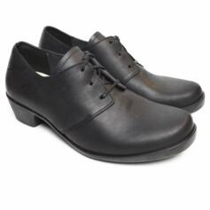 LOINTS OF HOLLAND SCARPA OPERA  NERO  DONNA NATURAL SHOES