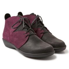 LOINTS OF HOLLAND SCARPONCINO ACTIVE BLACK/WINE DONNA NATURAL SHOES