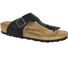 BIRKENSTOCK INFRADITO UOMO/DONNA RAMSES OILED LEATHER BLACK