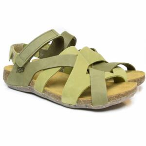 LOINTS OF HOLLAND SANDALI DONNA INCROCIATI CON STRAPPO FLORIDA 304/305 VERDE