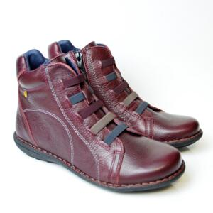 JUNGLA TRONCHETTO ZIP + ELEASTICI BORDEAUX
