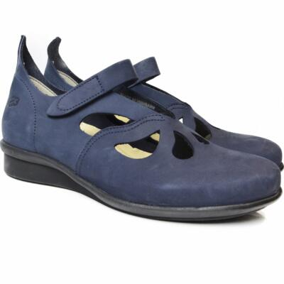 LOINTS OF HOLLAND SCARPE DONNA HEVEA G-WIJDTE BLU