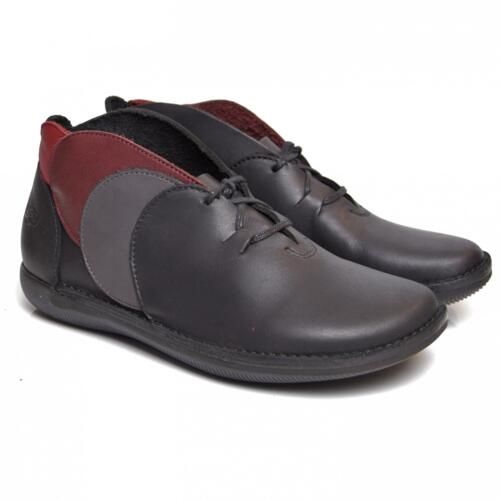 LOINTS OF HOLLAND SCARPA NATURAL NERO GRIGIO ROSSO NATURAL SHOES