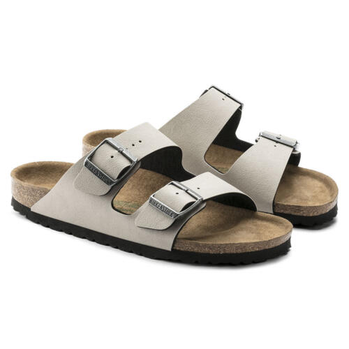 BIRKENSTOCK ARIZONA CIABATTE DONNA PULL UP STONE VEG